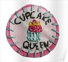 Cupcake Queen Poster