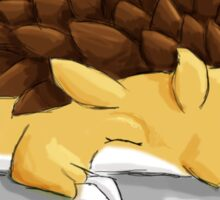Sleeping Sandslash Sticker