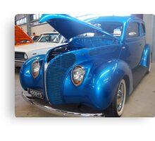 Blue Cruiser Metal Print