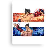 Tekken Jin/Kazuya Canvas Print