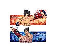 Tekken Jin/Kazuya Photographic Print