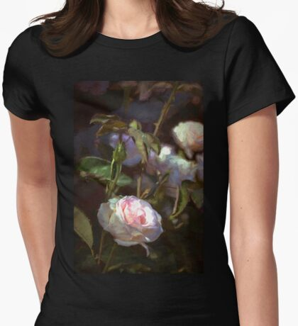 Rose 122 Womens Fitted T-Shirt