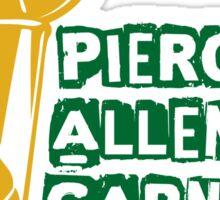 Pierce & Allen & Garnett - Boston Celtics 2008 Champions Sticker