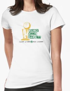 Pierce & Allen & Garnett - Boston Celtics 2008 Champions Womens Fitted T-Shirt