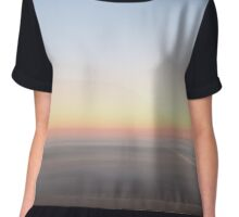 Smokey Coloured Saturday Beach Morning Chiffon Top