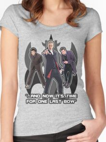 One Last Bow Women's Fitted Scoop T-Shirt