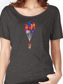 Crono and Marle - Balloon Celebration - Chrono Trigger sprite Women's Relaxed Fit T-Shirt