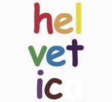 Helveticomic Sans Kids Clothes