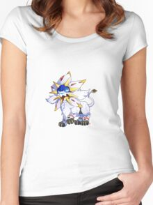 Solgaleo Women's Fitted Scoop T-Shirt