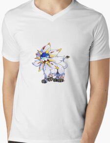 Solgaleo Mens V-Neck T-Shirt
