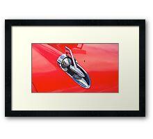 Chevrolet Bonnet Spear Framed Print