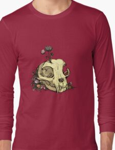 Little Skull Colour Long Sleeve T-Shirt