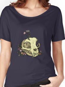 Little Skull Colour Women's Relaxed Fit T-Shirt