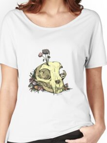 Little Skull Colour Women's Relaxed Fit T-Shirt
