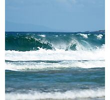 Just waves Photographic Print