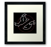°MOVIES° GhostBusters Neon LOGO Framed Print