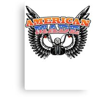 American Made Canvas Print