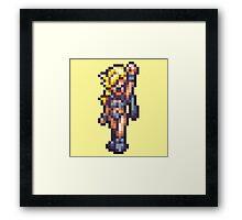 Ayla - Chrono Trigger sprite Framed Print