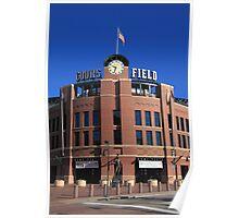 Coors Field - Colorado Rockies Poster
