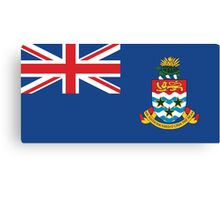 Cayman Island Flag Canvas Print