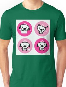 Little dog pink Princess collection Unisex T-Shirt