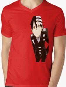 Soul Eater- Death the kid Mens V-Neck T-Shirt