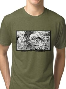 Memes and Memes Tri-blend T-Shirt