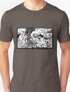Memes and Memes Unisex T-Shirt