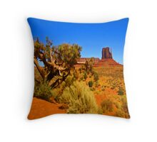 The Painted Valley Throw Pillow