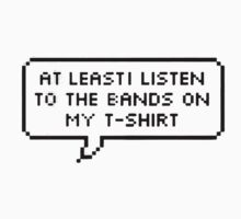 Band Tees by cosimacrazy