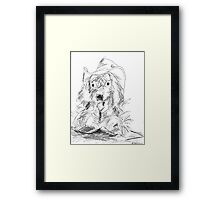 Cowboy Patch Framed Print