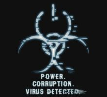 Virus Detected : Blue by PixelViolation