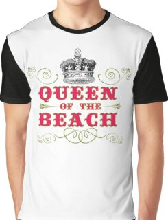 Queen of the beach Graphic T-Shirt