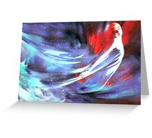 Goddess of the Cosmos Greeting Card
