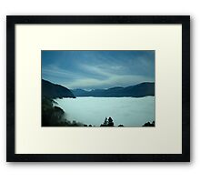 As Long As You Are With Me Framed Print