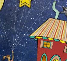 Celestial Balloons Sticker