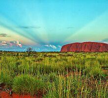 Uluru - Ayers Rock Sunset by ImageBud
