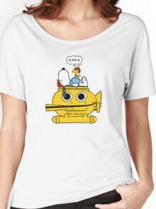 Snoopy Zissou Women's Relaxed Fit T-Shirt