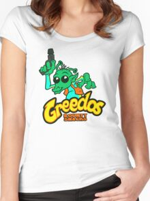 GREEDOS Bounty Snacks Women's Fitted Scoop T-Shirt