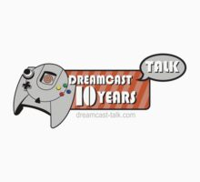 Dreamcast Talk 10th Anniversary Orange Swirl Kids Clothes