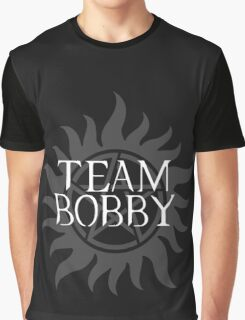 Supernatural - Team Bobby Graphic T-Shirt