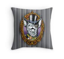 Sir Winks Alot Throw Pillow