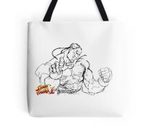Streetfighter - DeeJay Tote Bag