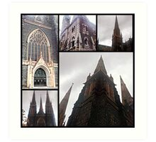 Cathedrals 2 Art Print