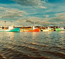 Fishing boat by 3523studio