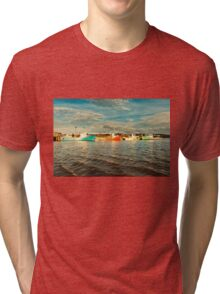 Fishing boat Tri-blend T-Shirt