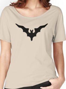 Gorey Inspired Bat Women's Relaxed Fit T-Shirt