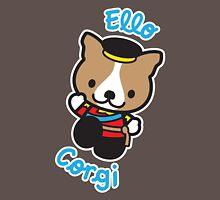 """Ello"" Corgi Womens Fitted T-Shirt"