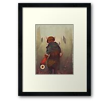 Dumb, Little Secrets Framed Print