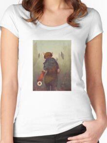 Dumb, Little Secrets Women's Fitted Scoop T-Shirt